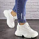 Женские стильные сникеры Fashion Penny 1673 38 размер 24 см Белый, фото 8