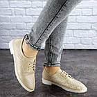 Женские туфли Fashion Lippy 1755 36 размер 23 см Бежевый, фото 5