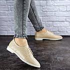 Женские туфли Fashion Lippy 1755 36 размер 23 см Бежевый, фото 6