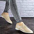 Женские туфли Fashion Lippy 1755 36 размер 23 см Бежевый, фото 8