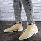 Женские туфли Fashion Lippy 1755 36 размер 23 см Бежевый, фото 10