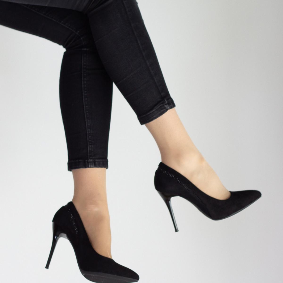 Туфлі жіночі Fashion Guinness 2505 38 розмір 24,5 см Чорний