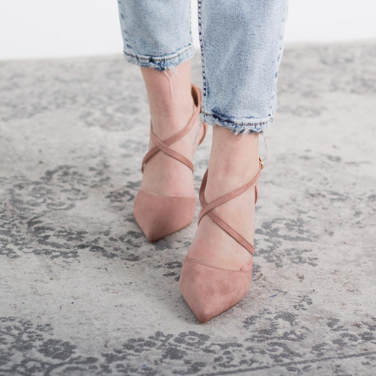 Туфлі жіночі Fashion Jace 2642 36 розмір, 23,5 см Рожевий 38