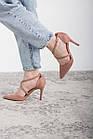 Туфлі жіночі Fashion Jace 2642 36 розмір, 23,5 см Рожевий 38, фото 3