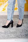 Туфлі жіночі Fashion Jackie 2593 36 розмір, 23,5 см Чорний, фото 3