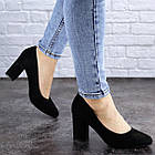 Жіночі туфлі на підборах Fashion Gertie 1983 36 розмір, 23,5 см Чорний, фото 2
