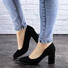 Жіночі туфлі на підборах Fashion Gertie 1983 36 розмір, 23,5 см Чорний, фото 3