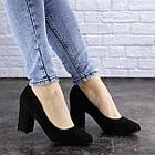 Жіночі туфлі на підборах Fashion Gertie 1983 36 розмір, 23,5 см Чорний, фото 5