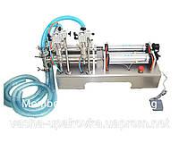 Дозатор жидкости пневматический 2 ручья 0,01-5л