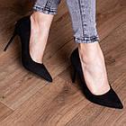 Туфли женские Fashion Quintin 2692 37 размер 24 см Черный, фото 2