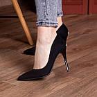 Туфли женские Fashion Quintin 2692 37 размер 24 см Черный, фото 3