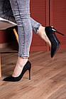 Туфли женские Fashion Quintin 2692 37 размер 24 см Черный, фото 4