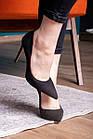 Туфли женские Fashion Tia 2451 36 размер 23,5 см Черный, фото 3