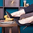 Туфли женские Fashion Tia 2451 36 размер 23,5 см Черный, фото 4