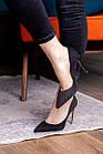 Туфли женские Fashion Tia 2451 36 размер 23,5 см Черный, фото 5