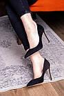 Туфли женские Fashion Tia 2451 36 размер 23,5 см Черный, фото 7