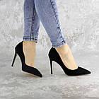 Туфли женские Fashion Tia 2451 36 размер 23,5 см Черный, фото 10