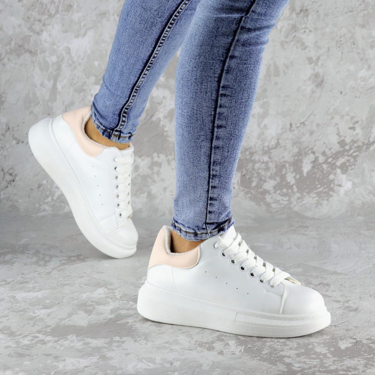 Кеды женские зимние Fashion Celtie 2236 38 размер 24,5 см Белый