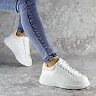 Кеды женские зимние Fashion Celtie 2236 38 размер 24,5 см Белый, фото 3
