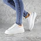 Кеды женские зимние Fashion Celtie 2236 38 размер 24,5 см Белый, фото 5