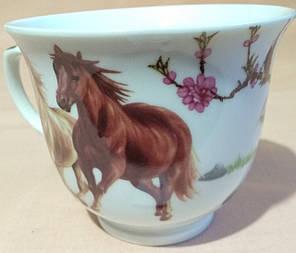 """Чашка в подарунковій коробці """"Коні"""", фото 2"""