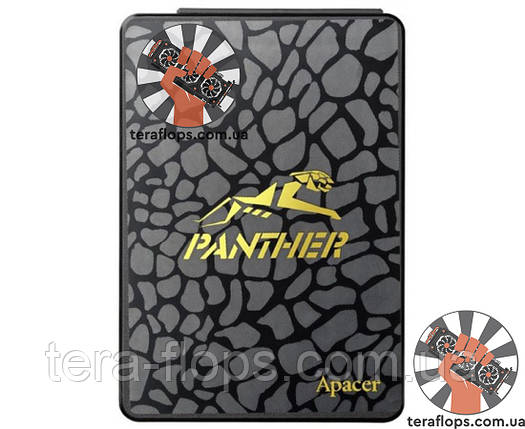 SSD накопичувач Apacer Panther AS340 120GB (AP120GAS340G-1) Б/У, фото 2