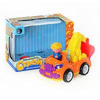 Машинка детский экскаватор Tongde T29-D821/ZY 6602 A, свет и звук
