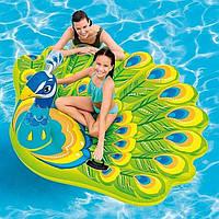 Оригинальный надувной плот для плавания Intex 57250 Павлин 193 х 163 х 94 см