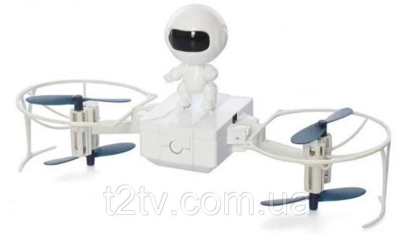 Квадрокоптер робот на радиоуправлении W609-1, белый