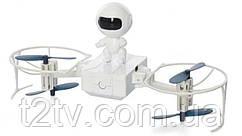 Квадрокоптер робот на радіоуправлінні W609-1, білий