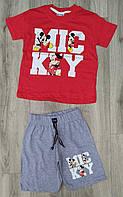 Детский летний костюм 2-7 лет для мальчиков Турция оптом