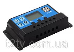 Контроллер заряда солнечной батареи KW1230 ШИМ 12-24В 30А