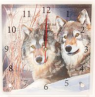 Часы настенные картина 25Х25