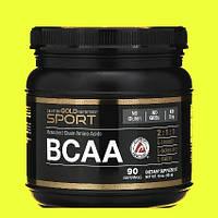 Аминокислоты BCAA 2:1:1 порошок California Gold Nutrition 454г Вибор спортсменов США