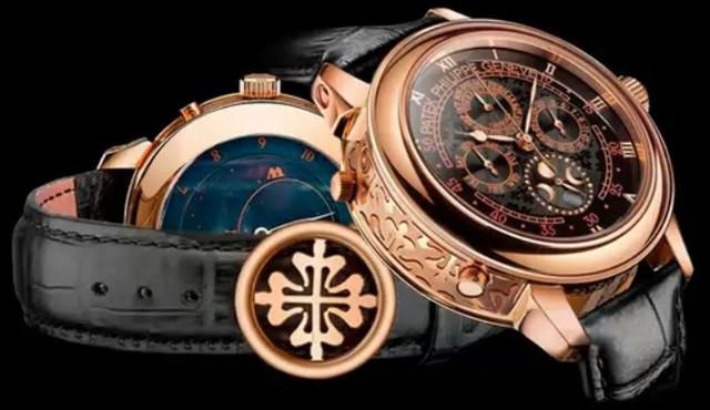 7ff549ae Часы Patek Philippe Sky Moon Tourbillon Gold -