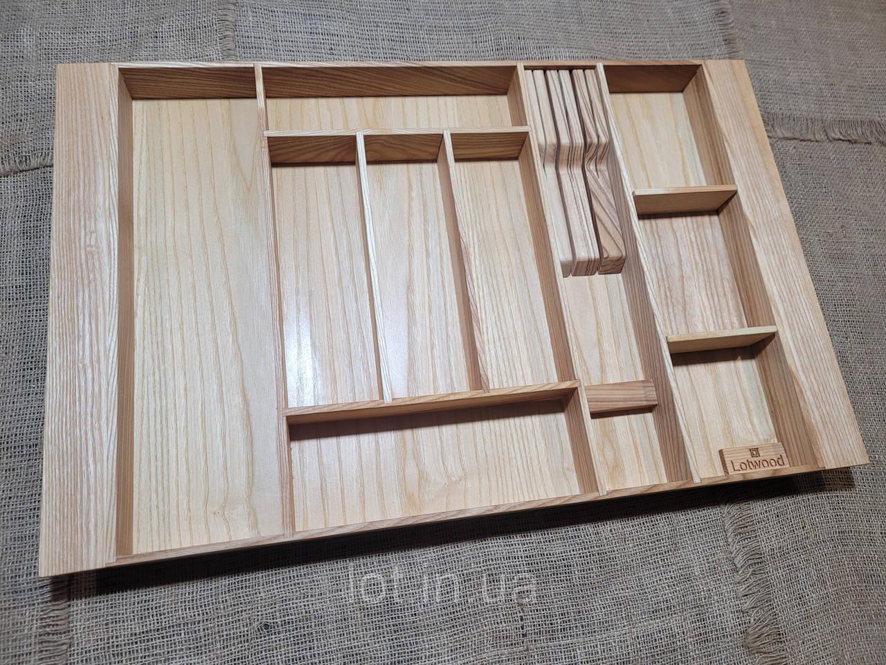 Лоток для столовых приборов LР3М1Т 609-700.450 ясень