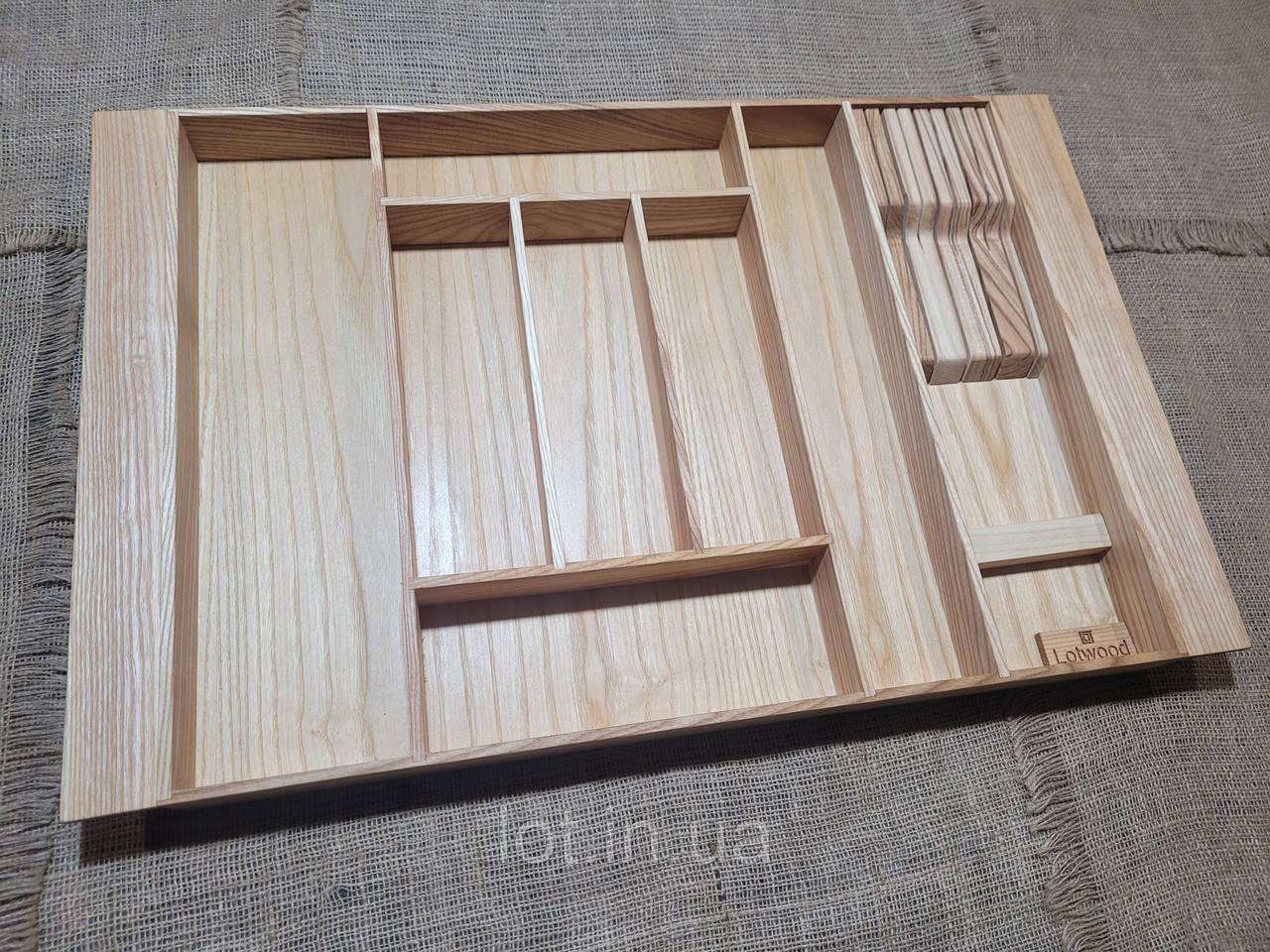Лоток для столовых приборов LР8 609-700.450 ясень