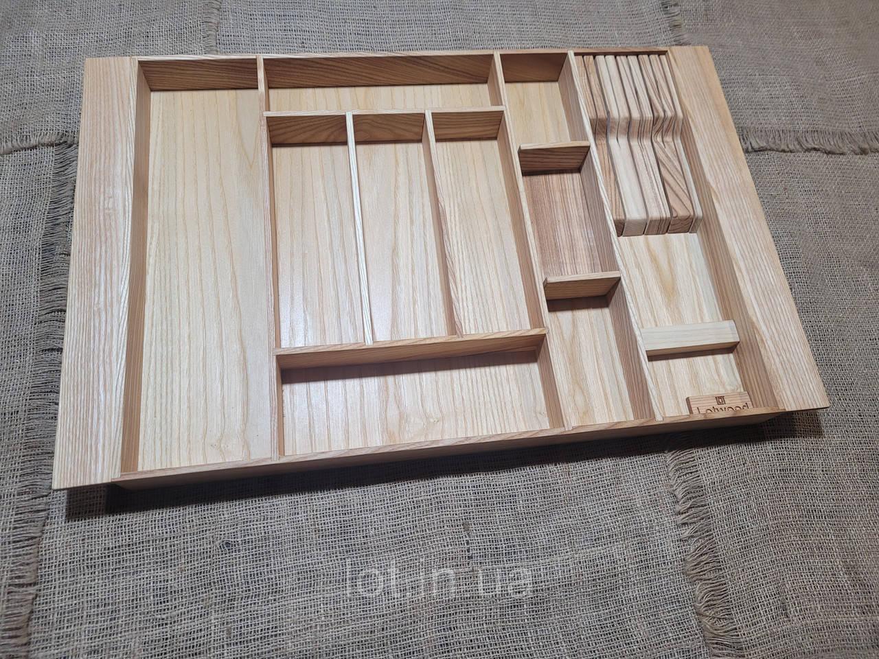 Лоток для столовых приборов LР8М1 609-700.450 ясень