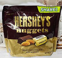 Конфеты Hershey's Nuggets из молочного шоколада с миндалем