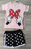 Детский летний костюм 6-18 мес для девочек Турция оптом