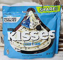 Конфеты Hershey´s Kisses белый шоколад с печеньем