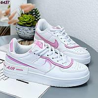 24,5 см Кросівки жіночі білі шкіряні на низькому ходу на підошві з із натуральної шкіри білого кольору, фото 1