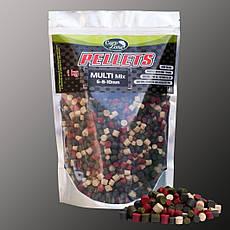 Пеллетс прикормочный Pellets Multi Mix (6-8-10mm) 1kg