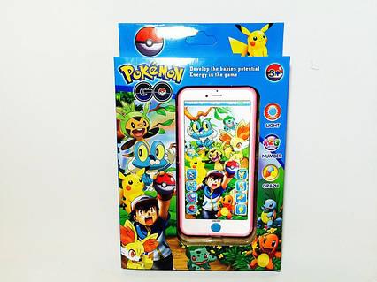 """Музыкальный развивающий телефон """"Pokemon Go/ Покемоны"""""""