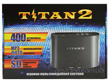 TITAN 2 игровая приставка Dendy+Sega   400 встроенных игр 8-16 бит   поддержка карт памяти