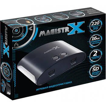 SEGA MAGISTR X игровая приставка   220 встроенных игр 16 бит   поддержка карт памяти
