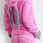 Теплий домашній костюм - піжама з вушками (р. 42-44,46-48) махра, фото 4