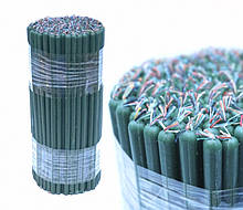 Свечи восковые магические пучек 1 кг. Зелёные