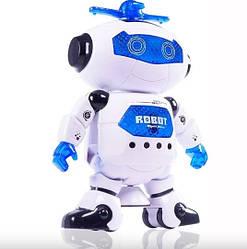 Танцующий робот Dancing Robot СИНИЙ STURN SPIN