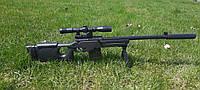 Дитяча снайперська гвинтівка на пульках з лазерним прицілом
